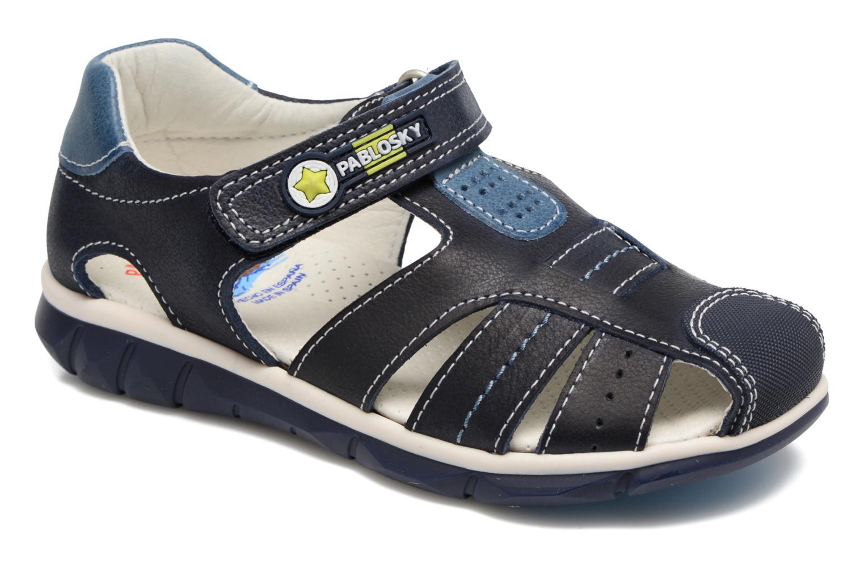 Sandales et nu-pieds Pablosky Fernando Bleu vue détail/paire