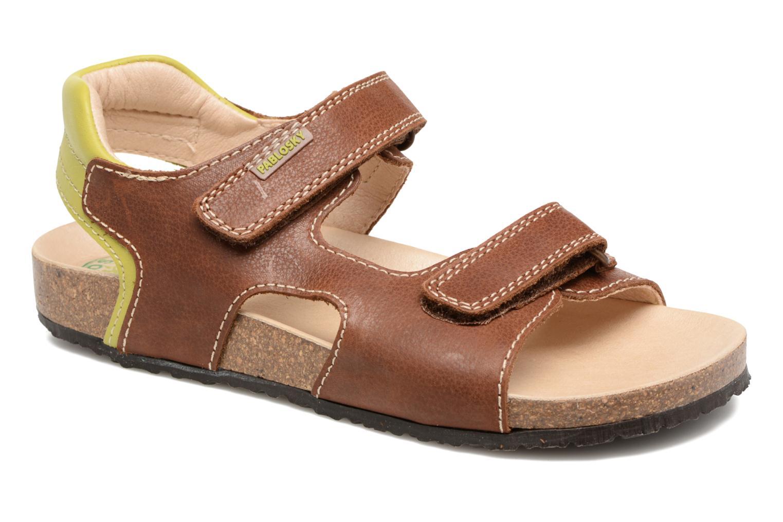 Sandales et nu-pieds Pablosky Filippo Marron vue détail/paire