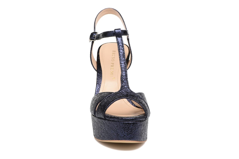 Sandales et nu-pieds Bruno Premi Regina Bleu vue portées chaussures