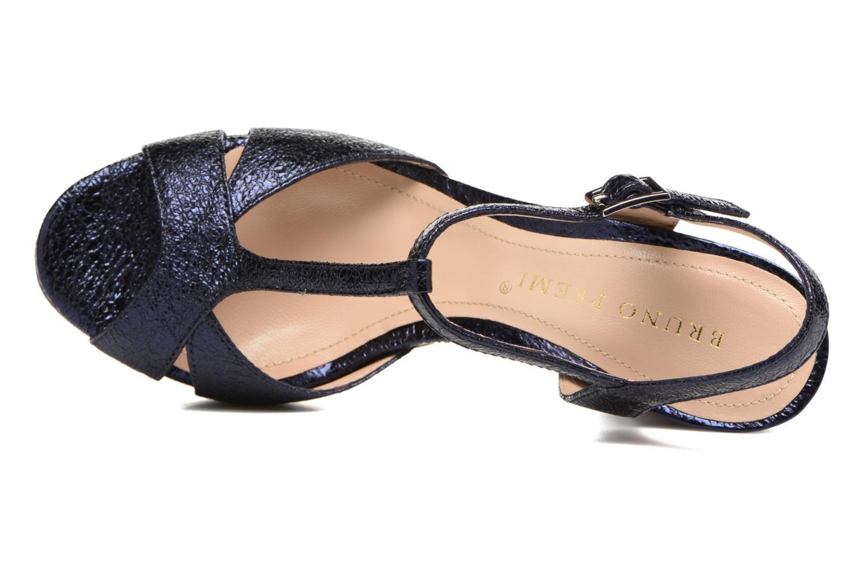 Sandales et nu-pieds Bruno Premi Regina Bleu vue gauche