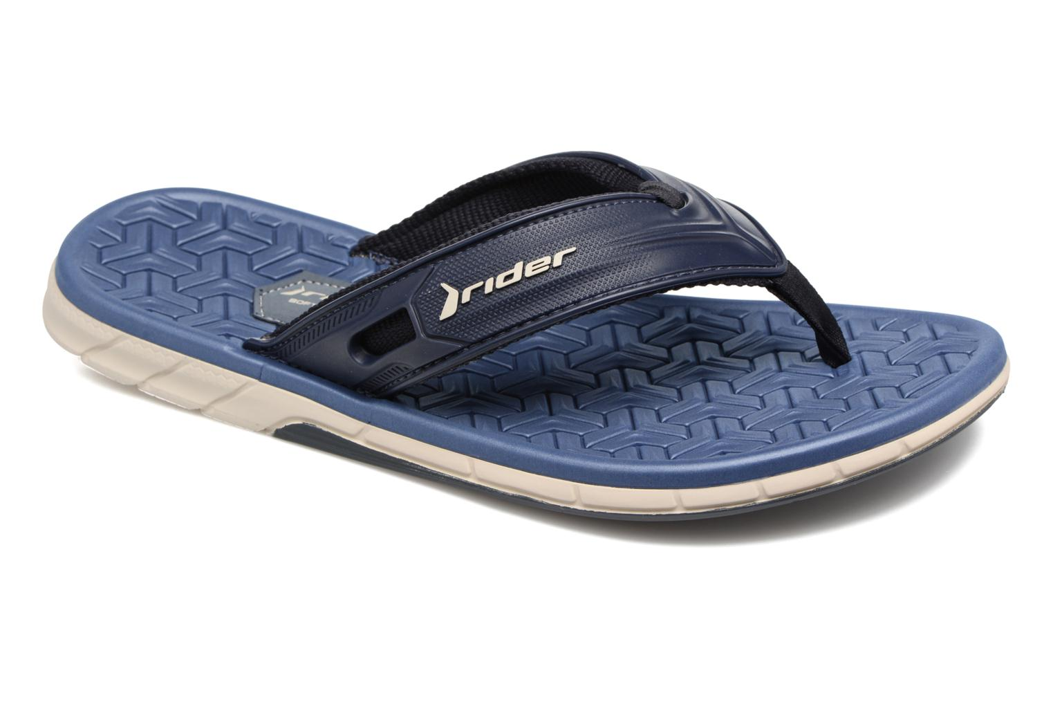 Flip flops Rider Next II AD Blue detailed view/ Pair view