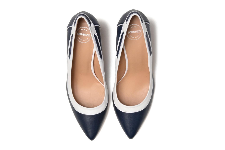 Escarpins Made by SARENZA Donut hut #2 Bleu vue portées chaussures