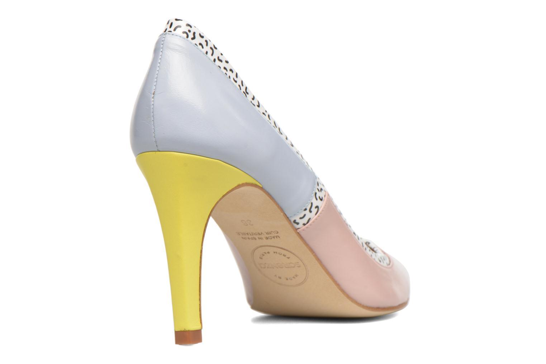 Høje hæle Made by SARENZA Snow Disco #1 Multi se forfra
