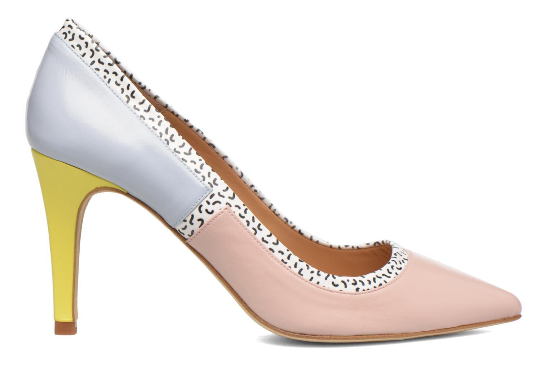 Snow Disco #1 Mestizo lady pink + print fideua + lavanda + jaune pastel