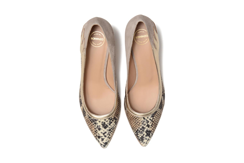 Escarpins Made by SARENZA Rock-a-hula #8 Beige vue portées chaussures