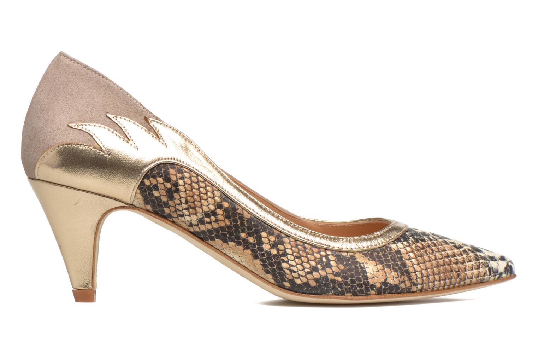 Høje hæle Made by SARENZA Rock-a-hula #8 Beige detaljeret billede af skoene