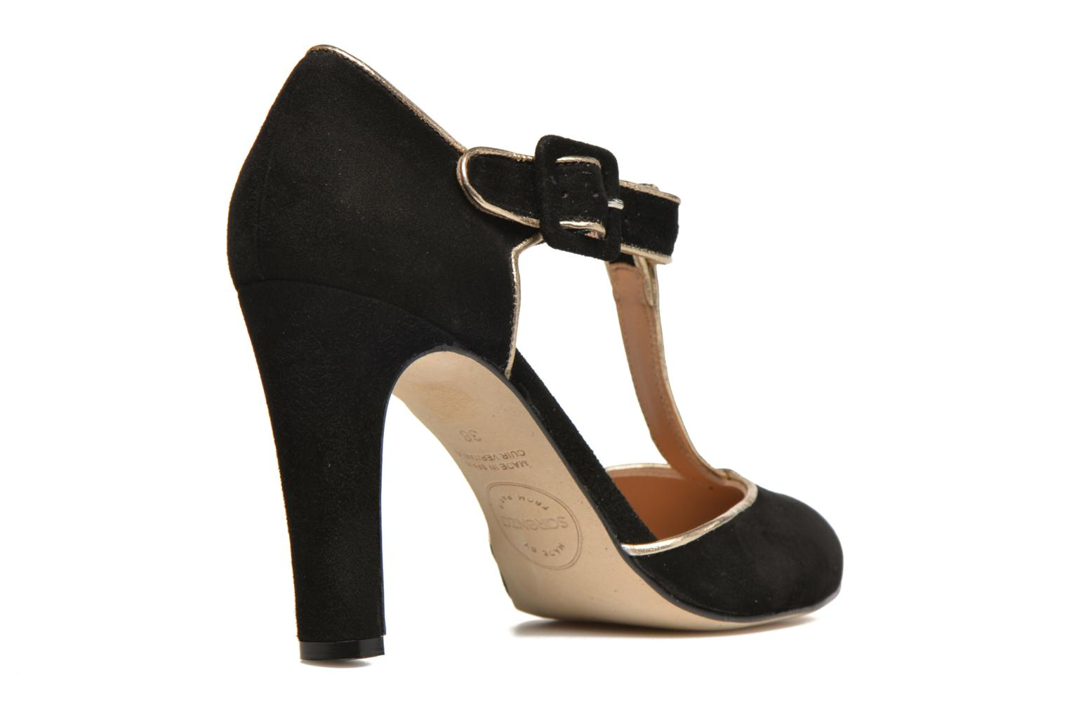 High heels Made by SARENZA Mexicoco #6 Black front view