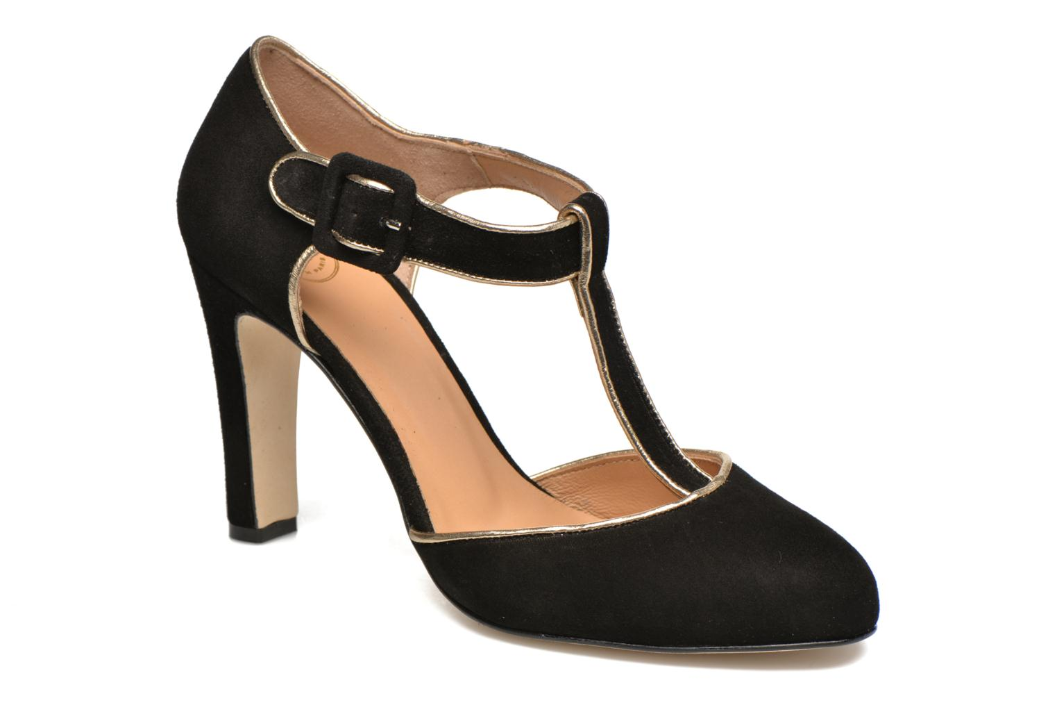 High heels Made by SARENZA Mexicoco #6 Black view from the right