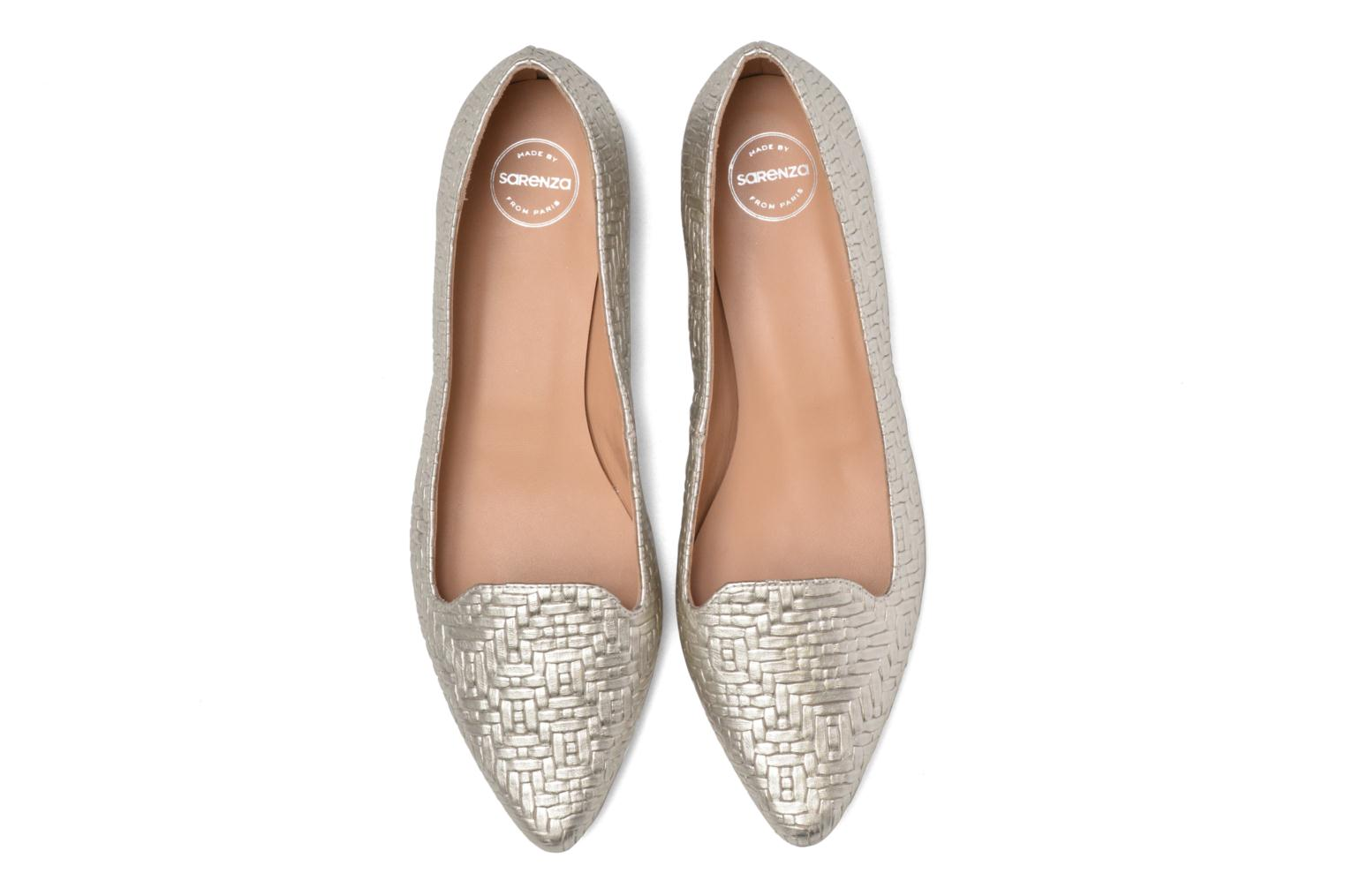 Loafers Made by SARENZA Bombay Babes Mocassins #1 Silver model view