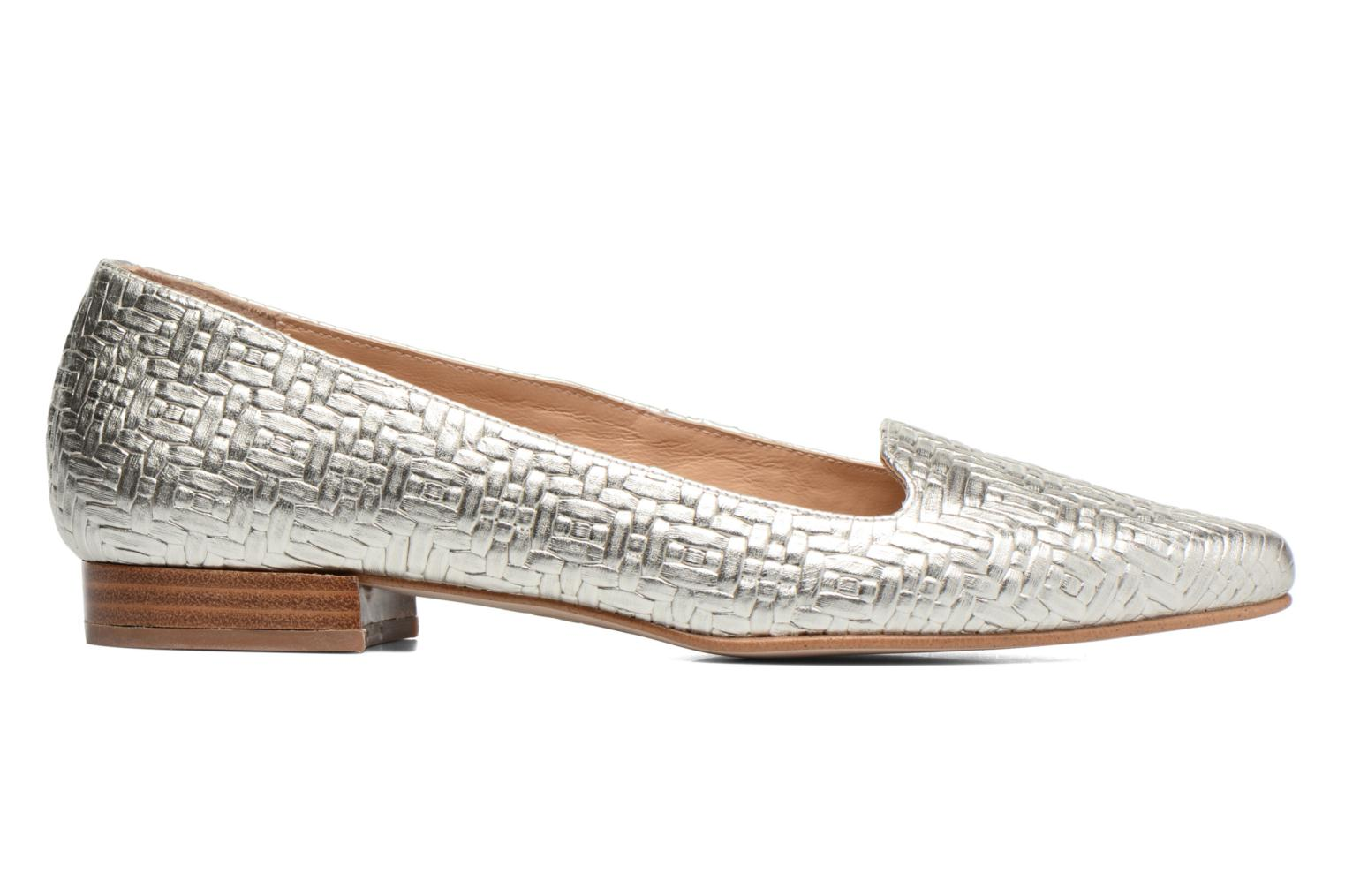 Loafers Made by SARENZA Bombay Babes Mocassins #1 Silver detailed view/ Pair view