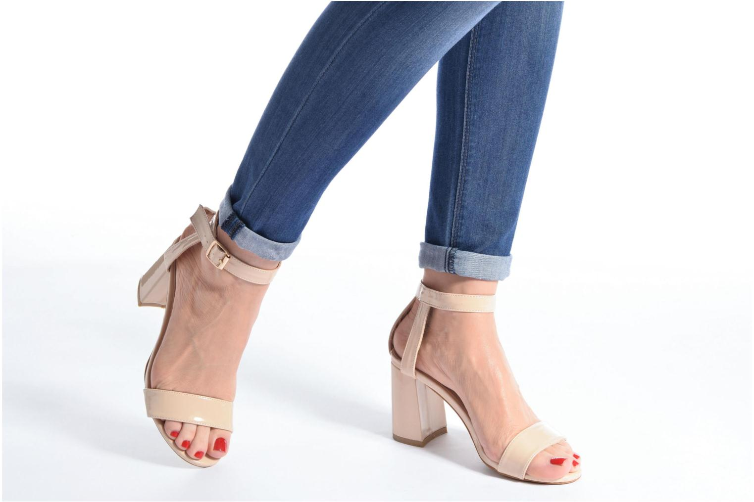 Sandals I Love Shoes BELYZE Beige view from underneath / model view