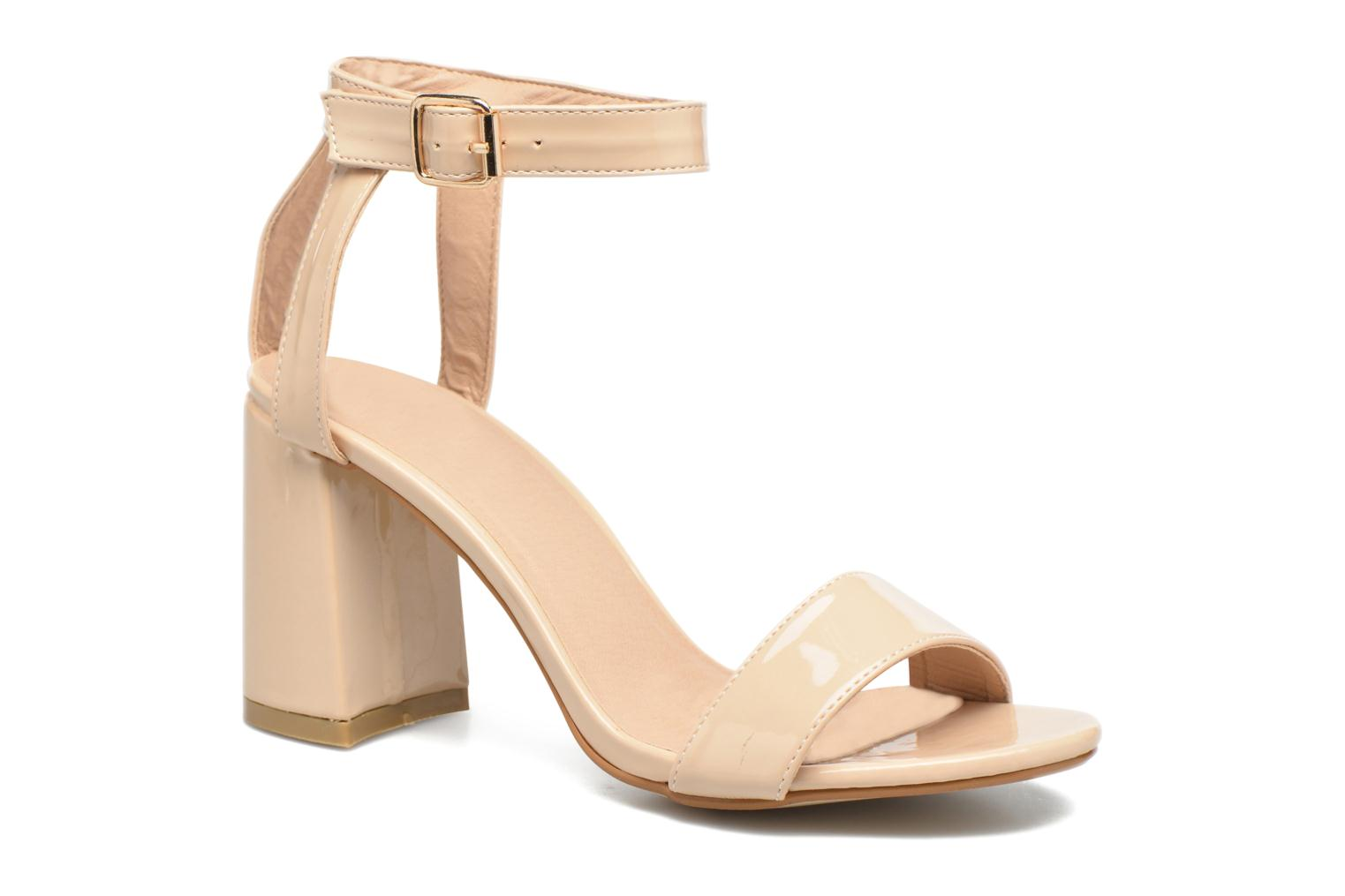 Marques Chaussure femme I Love Shoes femme BELYZE Nude patent