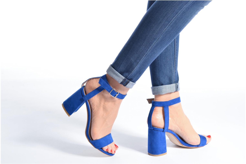 Sandales et nu-pieds I Love Shoes BELYZE Bleu vue bas / vue portée sac