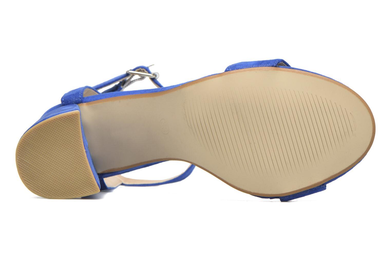 Sandales et nu-pieds I Love Shoes BELYZE Bleu vue haut