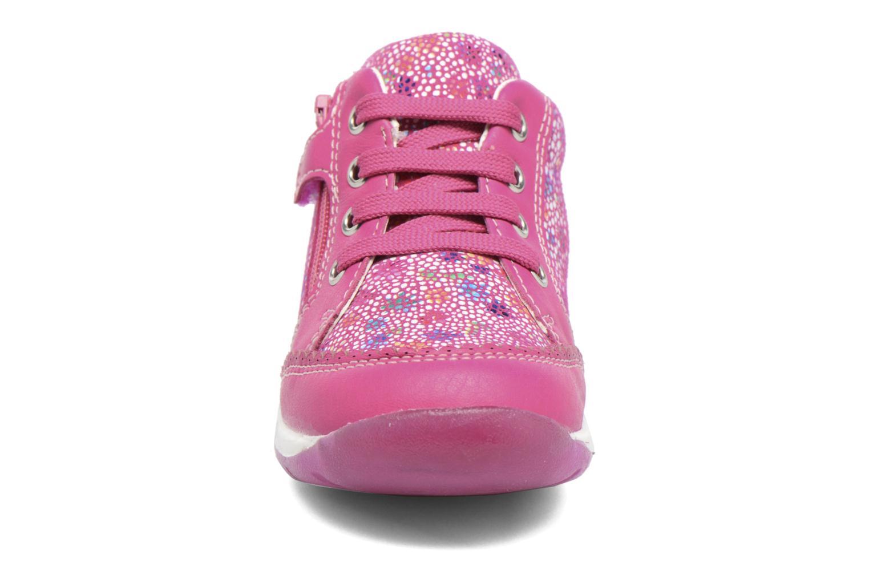 Chaussures à lacets Geox B Each G. C B720AC Rose vue portées chaussures