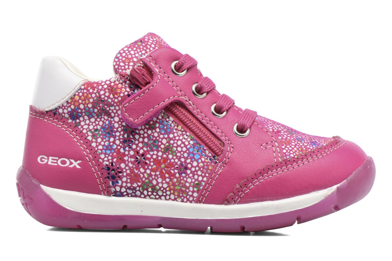 Chaussures à lacets Geox B Each G. C B720AC Rose vue derrière
