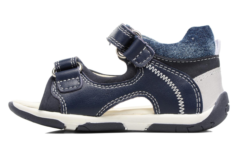 Sandali e scarpe aperte Geox B San.Tapuz B. A B720XA Azzurro immagine frontale