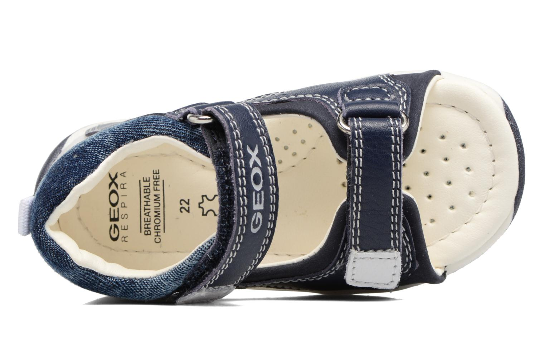 Sandali e scarpe aperte Geox B San.Tapuz B. A B720XA Azzurro immagine sinistra
