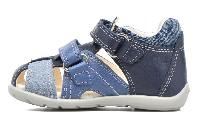 Sandales et nu-pieds Geox B Kaytan B.C B7250C Bleu vue face