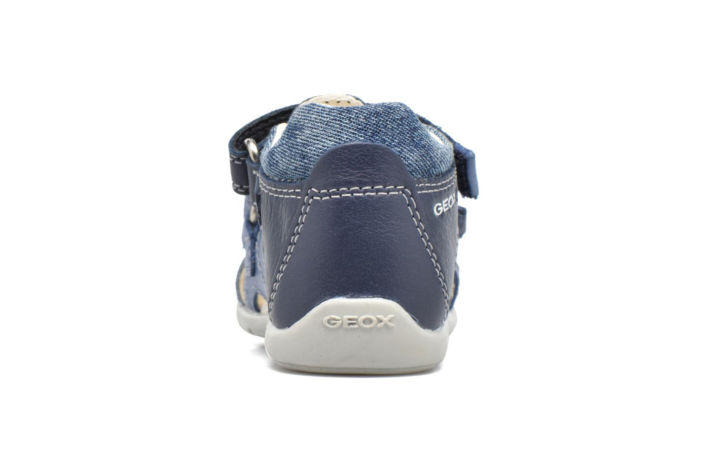 Sandales et nu-pieds Geox B Kaytan B.C B7250C Bleu vue droite