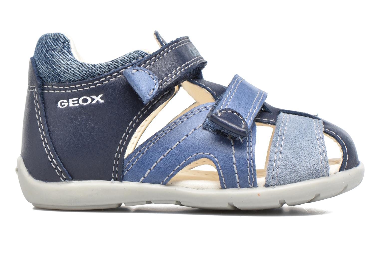 Sandales et nu-pieds Geox B Kaytan B.C B7250C Bleu vue derrière