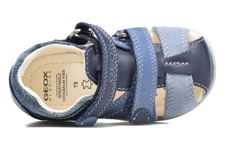 Sandales et nu-pieds Geox B Kaytan B.C B7250C Bleu vue gauche