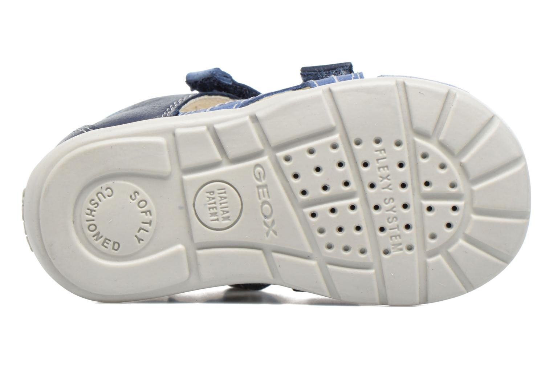 Sandales et nu-pieds Geox B Kaytan B.C B7250C Bleu vue haut