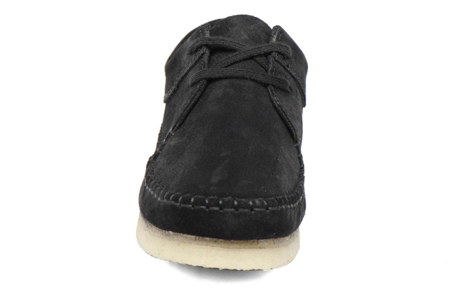 Veterschoenen Clarks Originals Weaver W Zwart model
