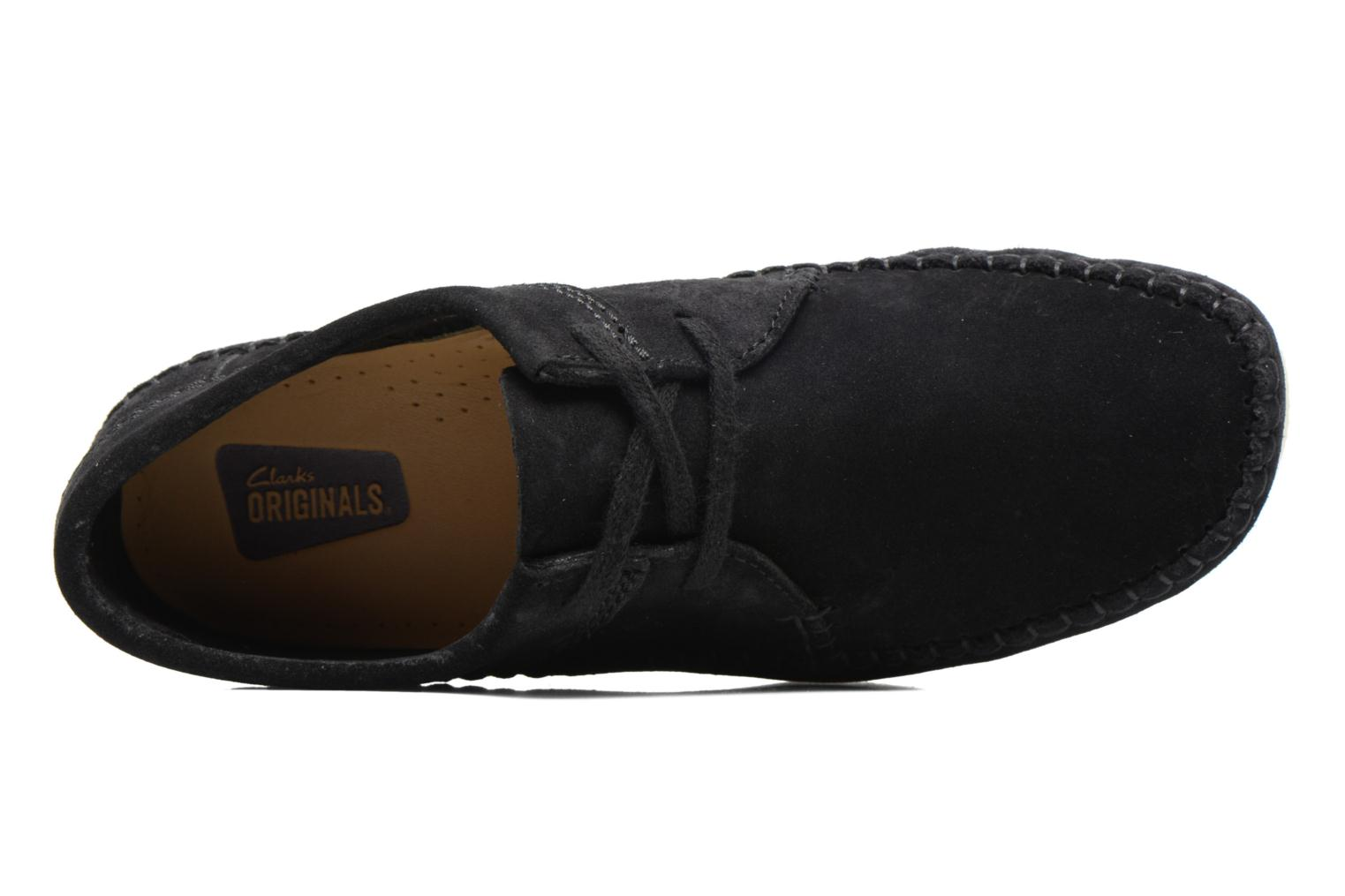 Veterschoenen Clarks Originals Weaver W Zwart links