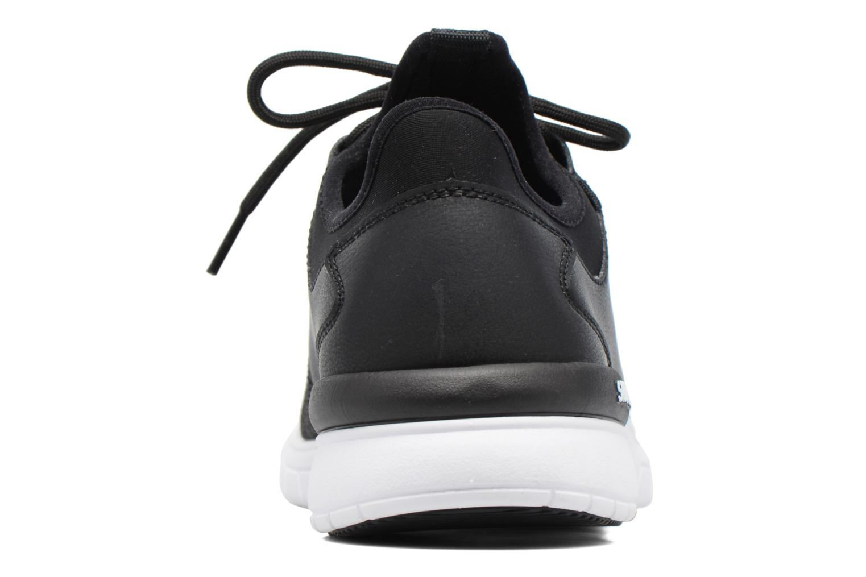 Baskets Supra Flow Run Noir vue droite
