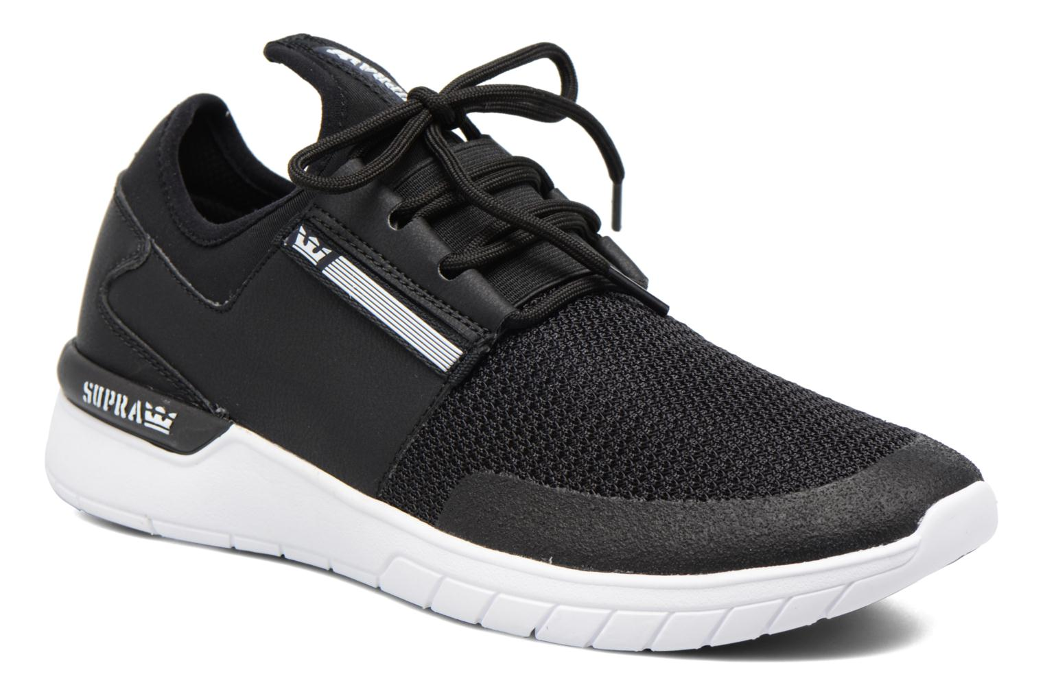 Flow Run Black/Black - White