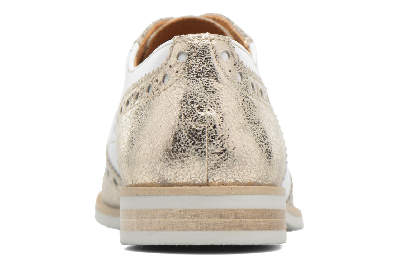 Chaussures à lacets Georgia Rose Ninish Or et bronze vue droite