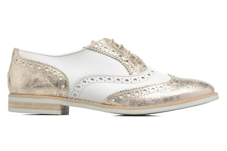 Chaussures à lacets Georgia Rose Ninish Or et bronze vue derrière