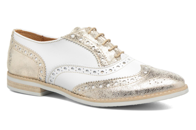 Chaussures à lacets Georgia Rose Ninish Or et bronze vue détail/paire