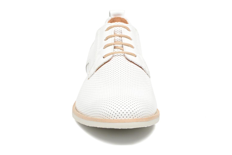 Lace-up shoes Georgia Rose Nitrou White model view