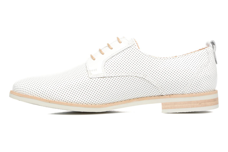 Chaussures à lacets Georgia Rose Nitrou Blanc vue face