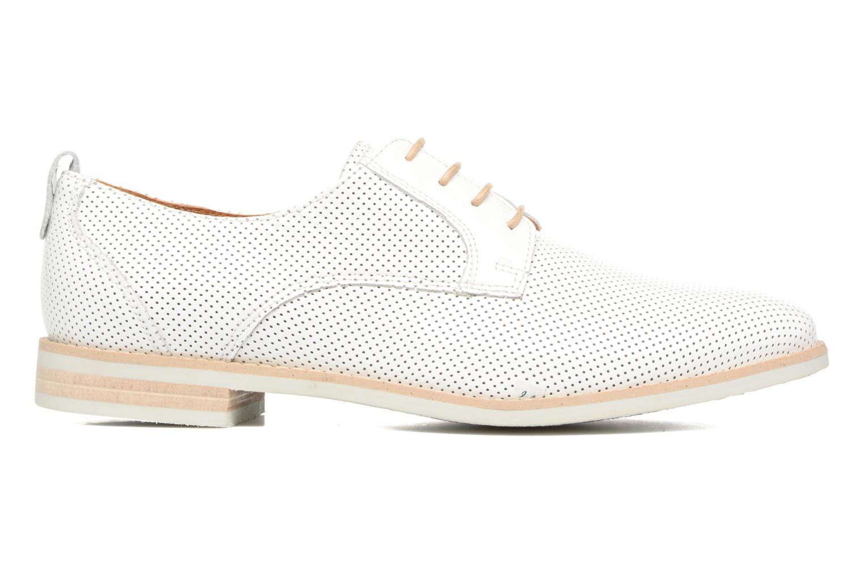 Chaussures à lacets Georgia Rose Nitrou Blanc vue derrière