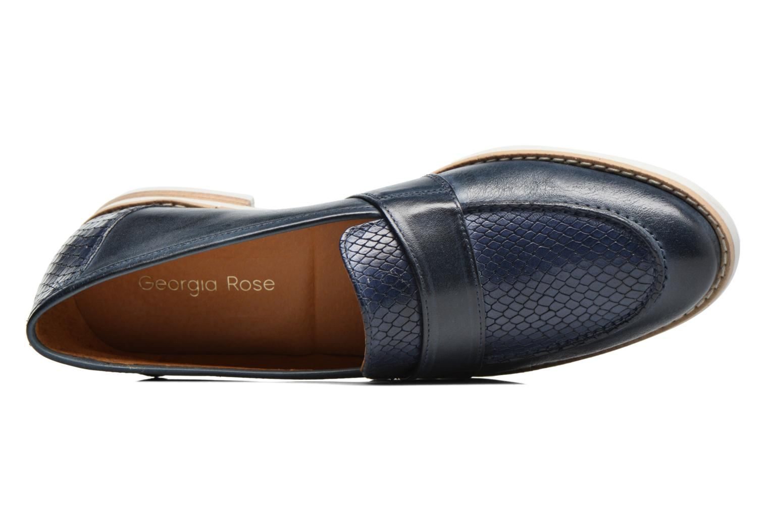 Loafers Georgia Rose Ninarck Blue view from the left