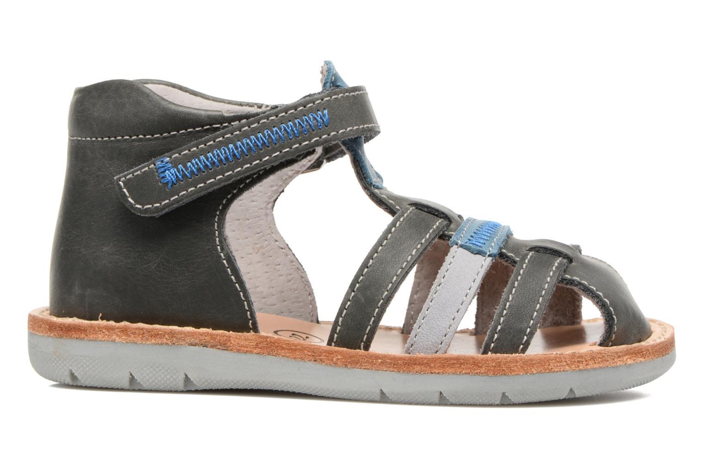 Sandales et nu-pieds Minibel Matchy Bleu vue derrière