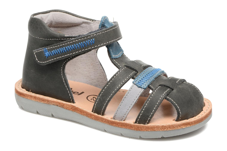 Sandales et nu-pieds Minibel Matchy Bleu vue détail/paire