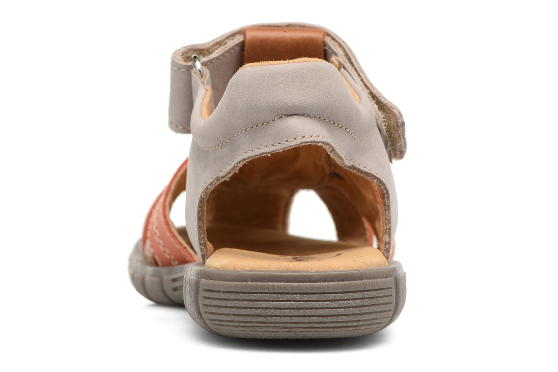 Sandales et nu-pieds Minibel Mike Gris vue droite
