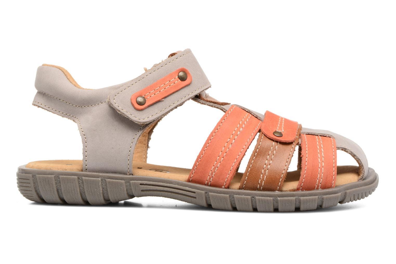 Sandales et nu-pieds Minibel Mike Gris vue derrière