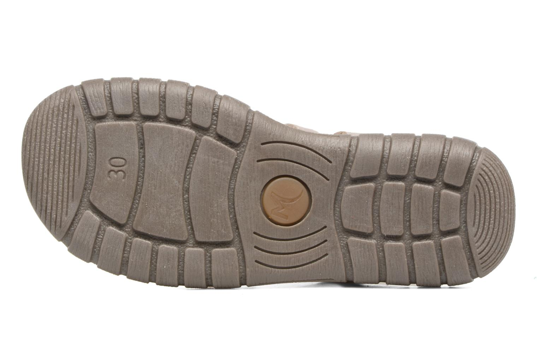 Sandales et nu-pieds Minibel Mike Gris vue haut