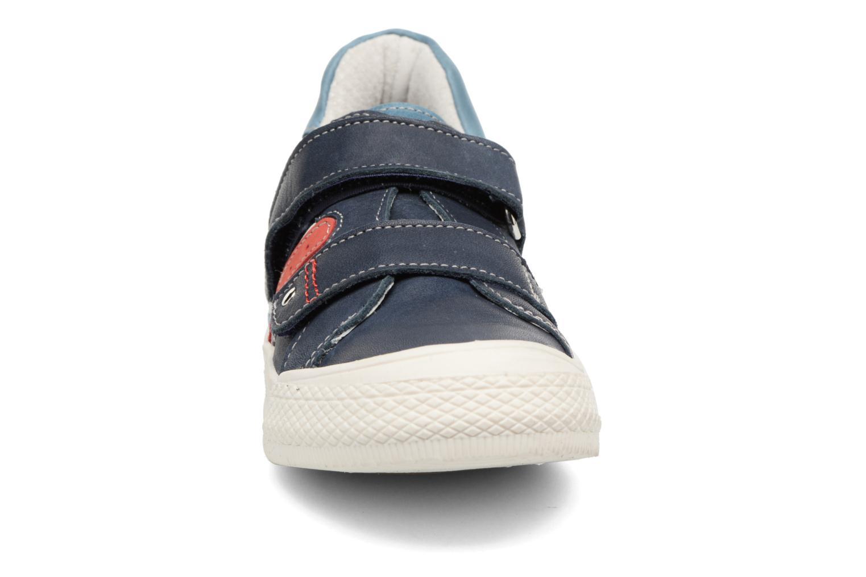 Baskets Minibel Mino Bleu vue portées chaussures