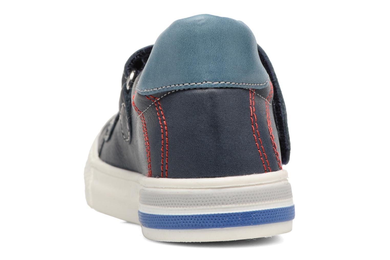 Baskets Minibel Mino Bleu vue droite