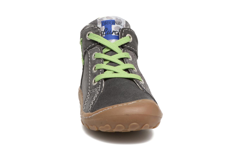 Zapatos con cordones Lurchi by Salamander Goldy Suede Gris vista del modelo