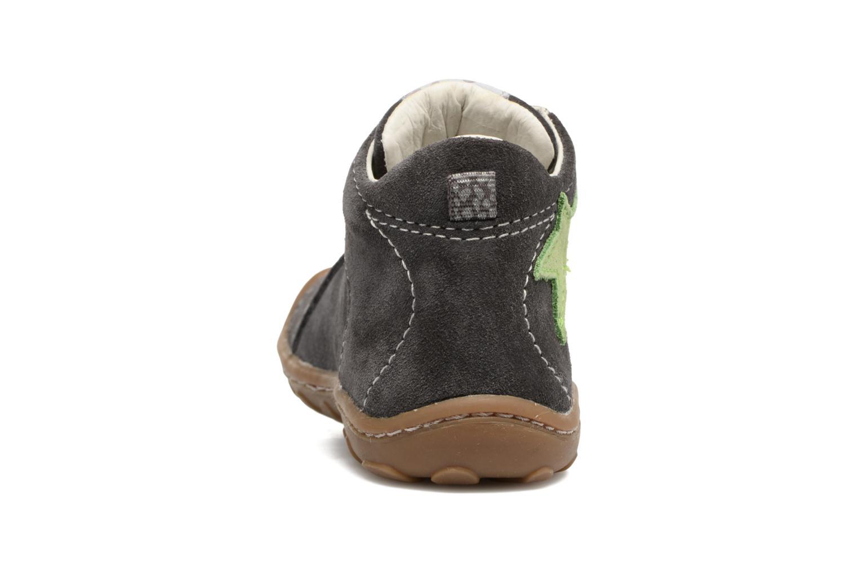 Zapatos con cordones Lurchi by Salamander Goldy Suede Gris vista lateral derecha