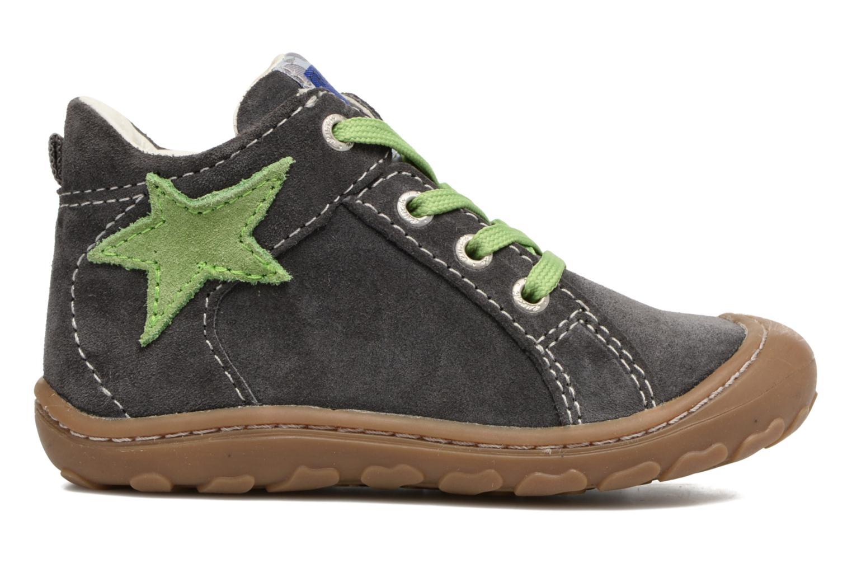 Zapatos con cordones Lurchi by Salamander Goldy Suede Gris vistra trasera