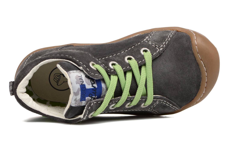 Zapatos con cordones Lurchi by Salamander Goldy Suede Gris vista lateral izquierda