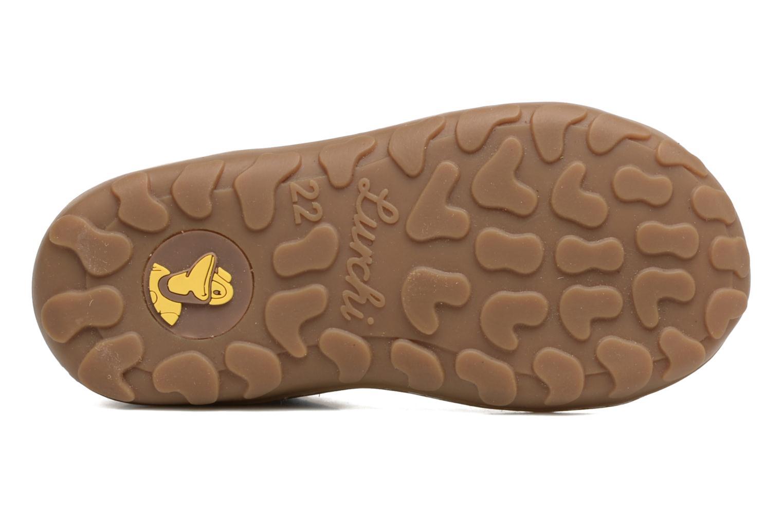 Zapatos con cordones Lurchi by Salamander Goldy Suede Gris vista de arriba